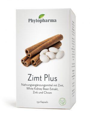 Phytopharma Zimt Plus Kaps 150 Stk