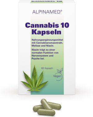 Alpinamed Cannabis 10 Kapseln