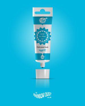 ProGel Lebensmittelfarbe Ice Blue 25ml