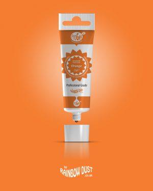 ProGel Lebensmittelfarbe Orange 25ml