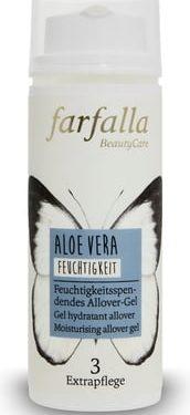 Farfalla Aloe Vera Feuchtigkeitsspendes Allover-Gel 50ml