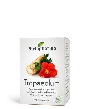 Phytopharma Tropaeolum Filmtabl 150 Stk