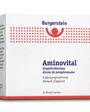 Burgerstein Aminovital Plv Grapefruitaroma 20 Btl