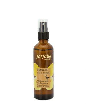 Farfalla Bio-Raumspray Lebensfreude Vanille-Mandarine 75ml