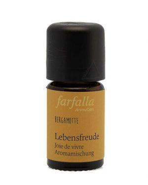 Farfalla Aromamischung Lebensfreude Bergamotte 5ml