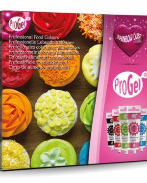 ProGel Lebensmittelfarbe Multipack 6x25ml