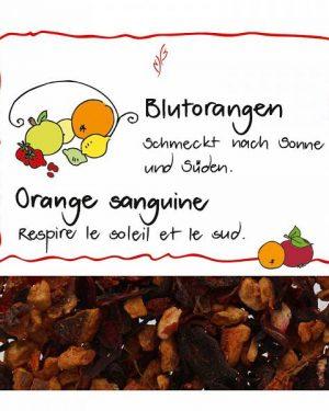 HERBORISTERIA Früchtetee Blutorangen 120 g