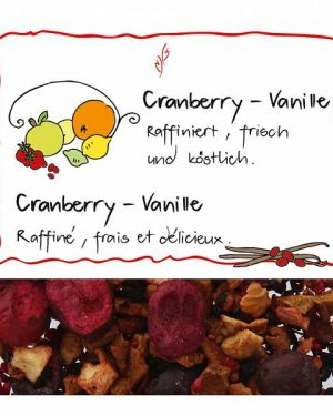 HERBORISTERIA Früchtetee Cranberry-Vanille 110 g