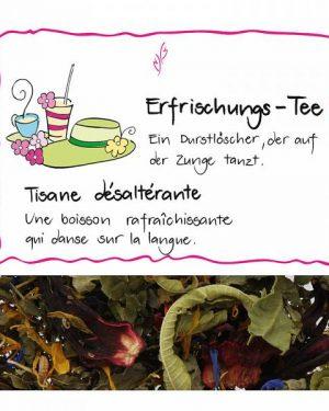 HERBORISTERIA Erfrischungs Tee 80 g