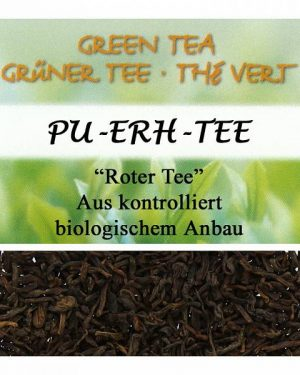 HERBORISTERIA Pu Erh Tee Roter Tee im Sack 100 g