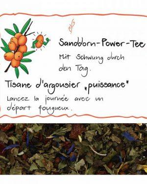 HERBORISTERIA Sanddorn-Power-Tee im Sack 110 g