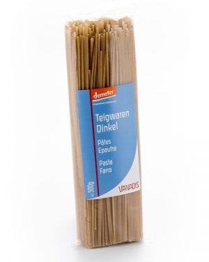 VANADIS Spaghetti Dinkel 500 g