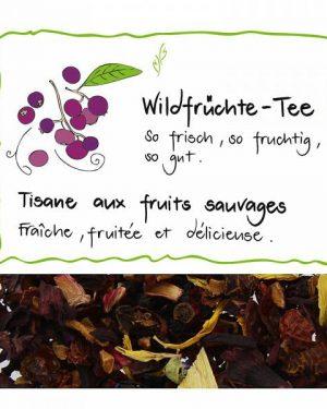 HERBORISTERIA Wildfrüchte Tee 175 g