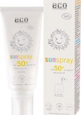 ECO COSMETICS Kids Sonnenspray LSF 50+ Disp 100 ml BIO