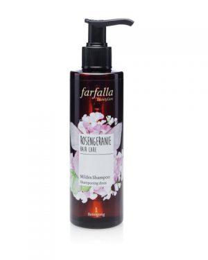Farfalla Rosengeranie, Mildes Shampoo