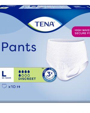 TENA Pants discreet L 10 Stk
