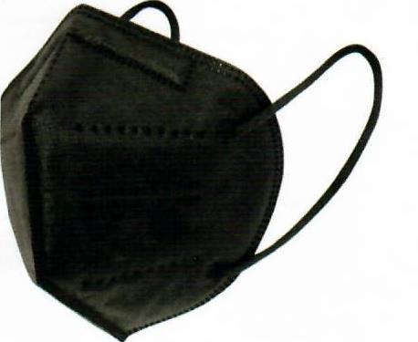 PANDEMIE Schutzmaske FFP2 schwarz