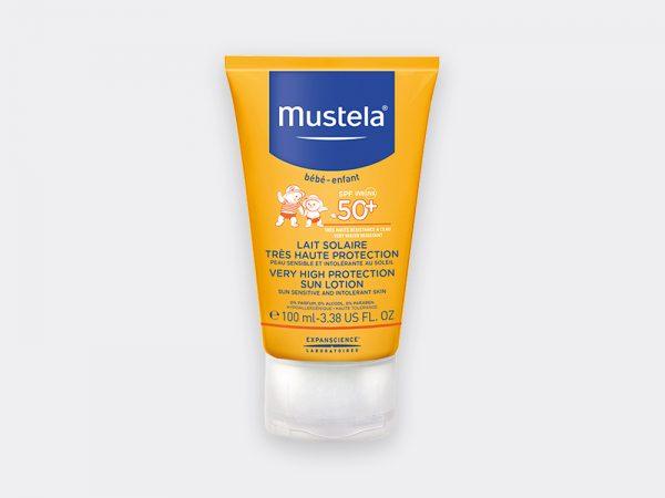 MUSTELA Sonnenschu Sonnenmilch SPF50+ 100 ml